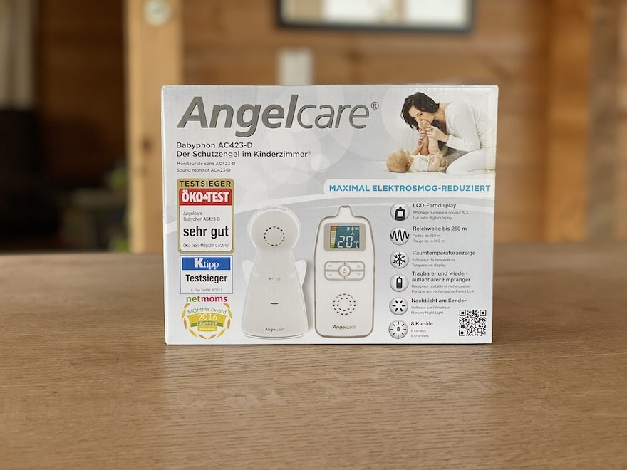 Angelcare AC423-D Verpackung