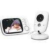 Babyphone 3.2 Zoll Babyphone mit Kamera Video Überwachung Smart Baby Monitor TFT LCD Digital dual Audio Funktion,Temperatursensor, Schlaflieder, Nachtsicht, Gegensprechfunktion - 1