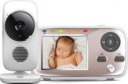 "Motorola Baby MBP 667 Connect , WLAN Video Babyphone , Baby-Überwachungskamera mit 2.8"" Farbdisplay , 300 Meter Reichweite - 1"