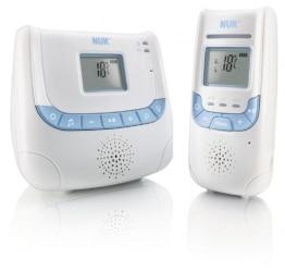 NUK Babyphone Eco Control+ DECT 267 mit Full Eco Mode, Display, Nachtlicht und Schlafliedfunktion - 1