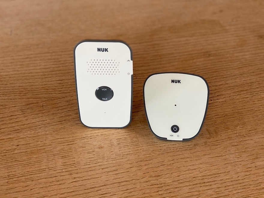 NUK Eco Control 500 Babyphone Babyeinheit Elterneinheit