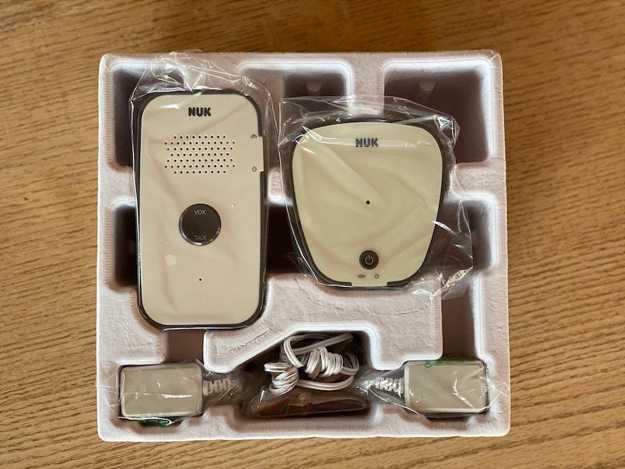 NUK Eco Control 500 Babyphone Lieferumfang