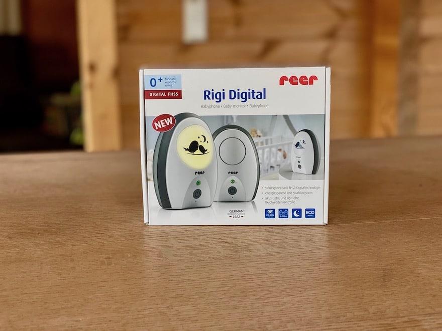 Reer Rigi Digitl 50070 Babyphone Verpackung