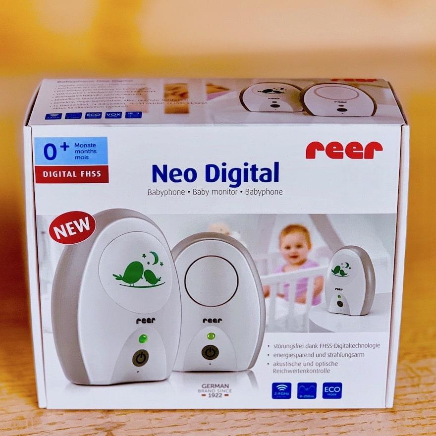 reer Neo Digital 50040 Babyphone Verpackung