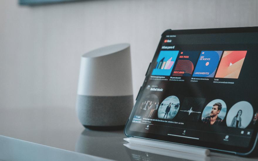 Google Home Babyphone Tablet
