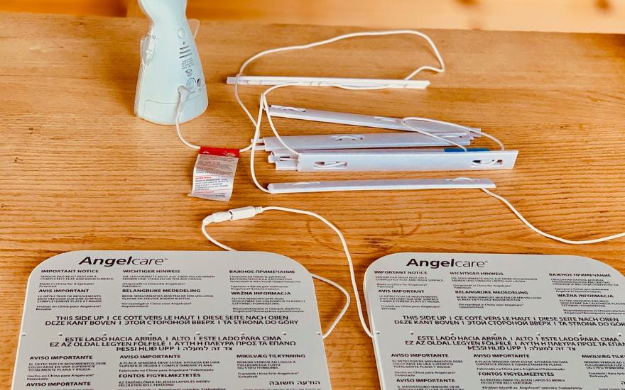 Angelcare Sensormatte Atemüberwachung Babyphone